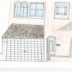 Drawing of mortgage